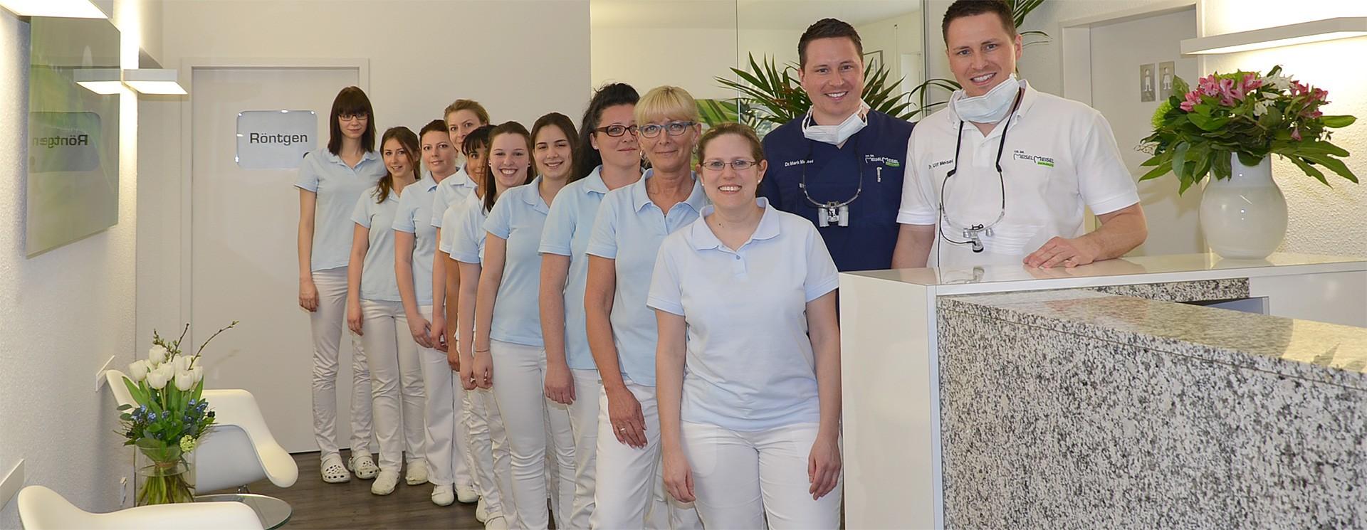 Team Zahnarztpraxis Dr. Mark Meisel und Dr. Ulf Meisel Nürnberg
